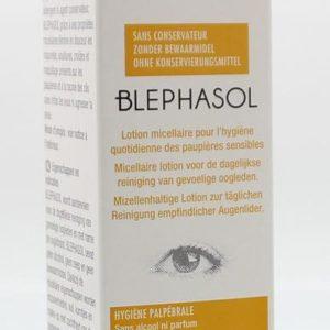 Reinigingslotion ooglid