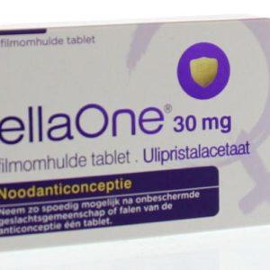 Ellaone 30 mg filmonhulde tablet