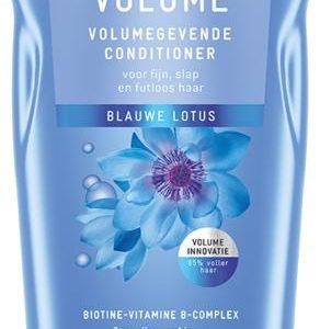 Conditioner langdurige volume blauwe lotus