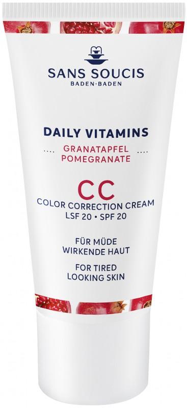 Sans Soucis CC cream SPF 20 anti-fatigue 30ml