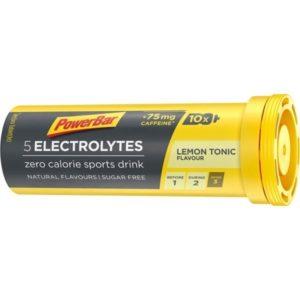 POWERBAR ELECTROLYTE LEMON 10T