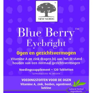 NEW NORDIC BLUE BERRY EYEBRIGH 120T