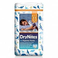 Huggie Drynites Boy S 3-5 Jaar 10S