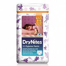 Huggie Drynites Girl S 3-5Jaar 10S