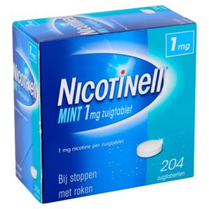 NICOTINELL ZUIGTABLET 1MG MINT 204S