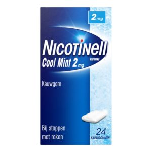NICOTINELL POCKETPACK 2MG MINT 24S