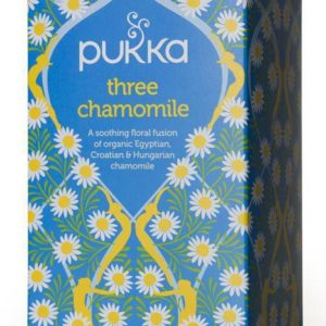 Pukka Thee Three Chamomil Usda 20Z