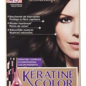kERATINE COLOR 4.0 DONKERBRN- 1S