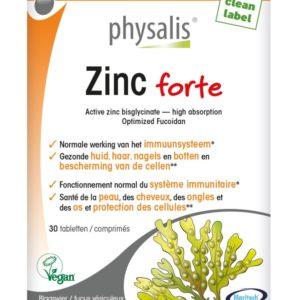 PHYSALIS ZINC FORTE 30T
