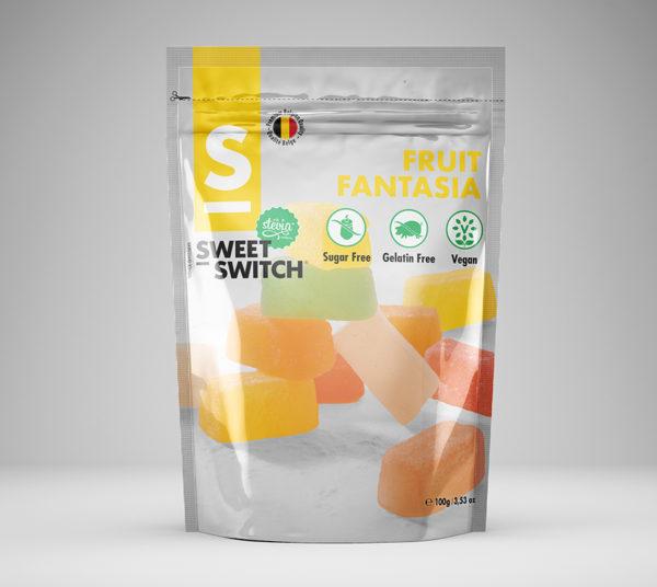SWEET-SWITCH FRUIT FANTASIA 100G