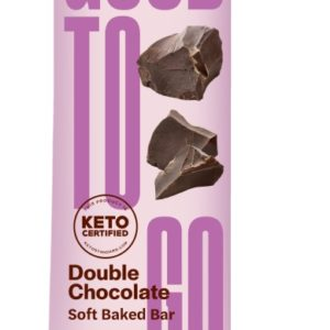 Goodtogo Bar Dubbel Chocolade 40G