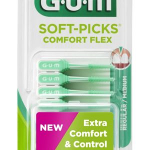 GUM SOFT PICKS COMF FLEX M 40S
