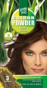Colour powder 57 dark brown