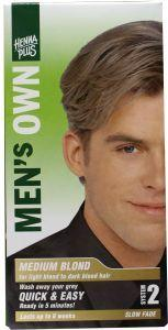 Men's own medium blond