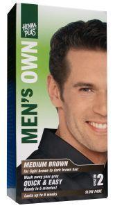 Men's own medium brown