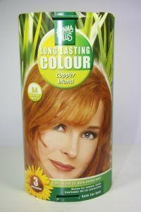 Long lasting colour 8.4 copper blond