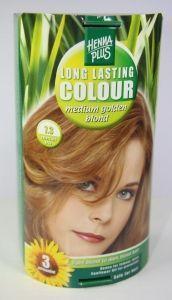 Long lasting colour 7.3 medium golden blond