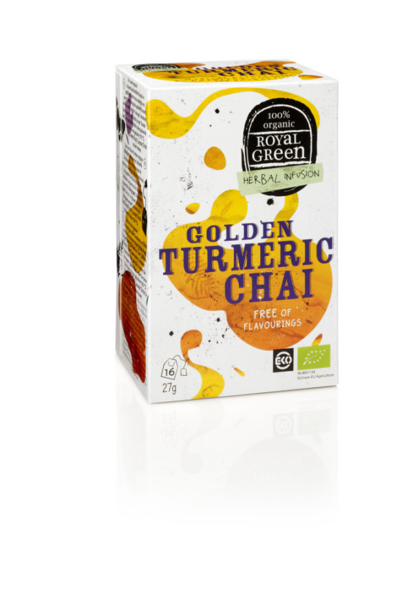 Royal Green Th Tumeric Chaibio 16Z