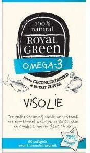 ROYAL GREEN VISOLIE OMEGA 3 60SFG