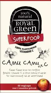 ROYAL GREEN CAMU CAMU VIT C 120C