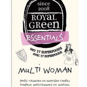 ROYAL GREEN MULTI WOMAN 120T