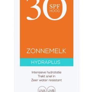 Zonnemelk hydraplus SPF30