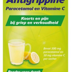 ANTIGRIPPINE POEDER 500/50MG 10S