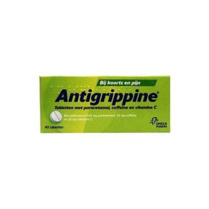ANTIGRIPPINE 250/25/25MG UAD 40T