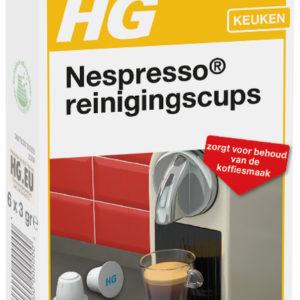 HG REINIGSCUPS NESPRESSO MACHI  6ST