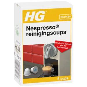 Nespresso reinigingscups