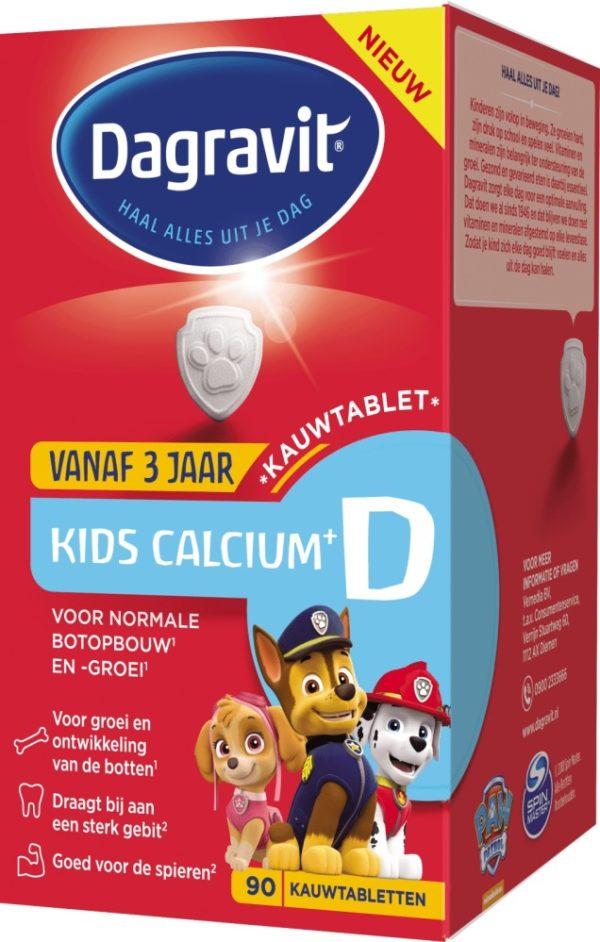 DAGRAV KIDS CALCIUM&D 90T