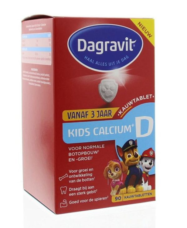 Kids calcium & vitamine D