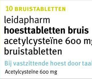 LEIDA HOEST ACETYLCYS 600MG BR 10S