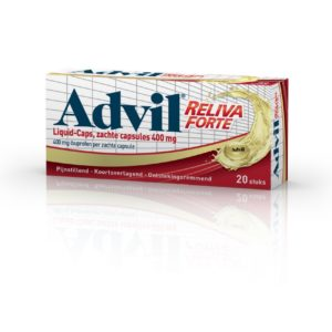 ADVIL RELIV LIQ 400MG IBU# UAD 20C