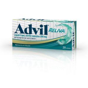 Advil Reliva Liquid 200Mg Ibu# 20C