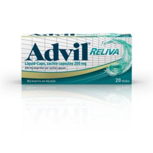 Advil reliva liquid caps 200mg UAD