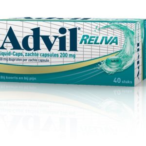 Advil Reliva Liquid 200Mg Ibu# 40C