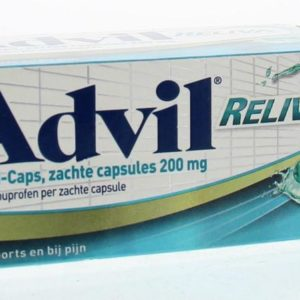 Advil reliva liquid capsules 200 UAD