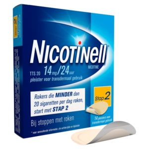 NICOTINELL PLEISTERS TTS 20 14S