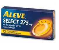 ALEVE SELECT 275MGNAPROXEN UAD 12T