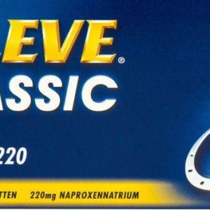 Aleve Classic 220Mg Naproxen 12T
