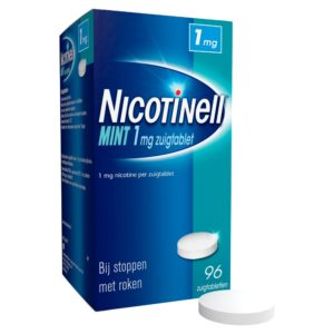 NICOTINELL ZUIGTABLET 1MG MINT 96S