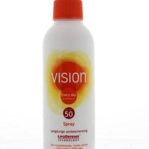 High SPF50 spray