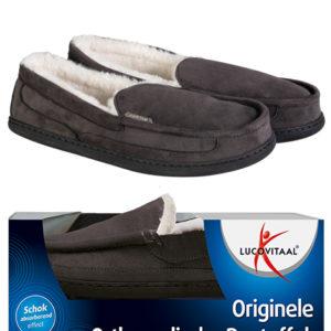 Orthopedische pantoffels antraciet 43-44