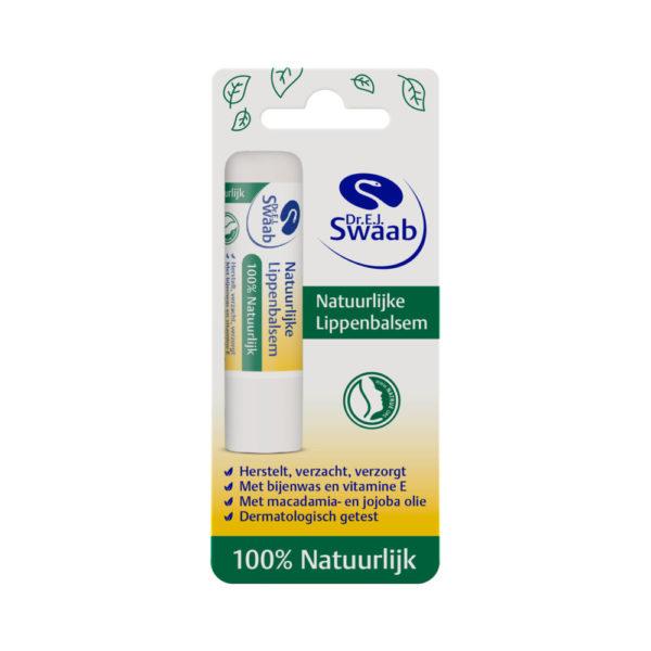 SWAAB LIPPENBALM 100% NATRblis 5G