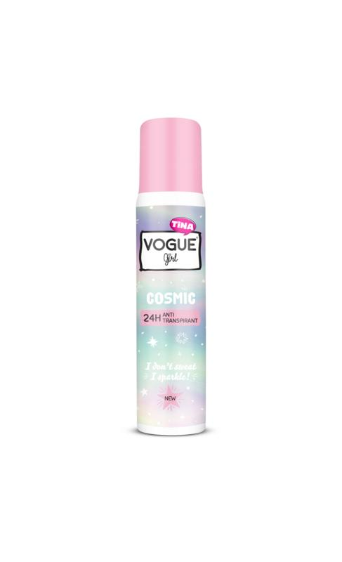 Girl deodorant anti transpirant cosmic