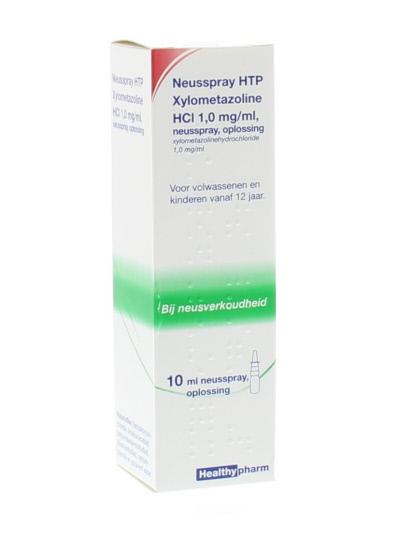 Neusspray xylometazoline 1.0%