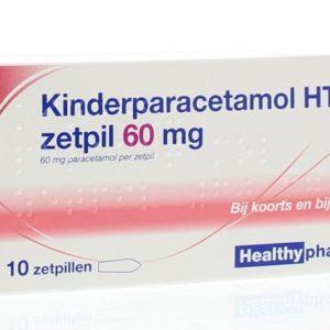 Paracetamol kind 60 mg