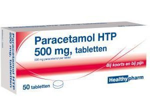 HEALTHY PARACETA 500MG UAD 50S