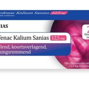 Diclofenac kalium 12.5 mg
